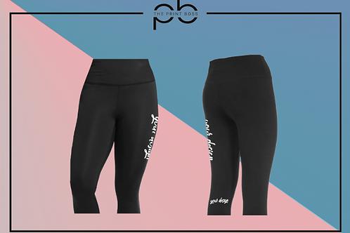 3/4 Active Leggings - Print (G)