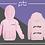 Thumbnail: Babies Zip Hoodie - (Q)