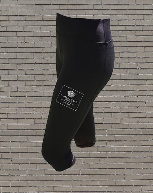 High Waisted 3/4 Leggings