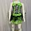 Thumbnail: Green/Zebra Print Tutu