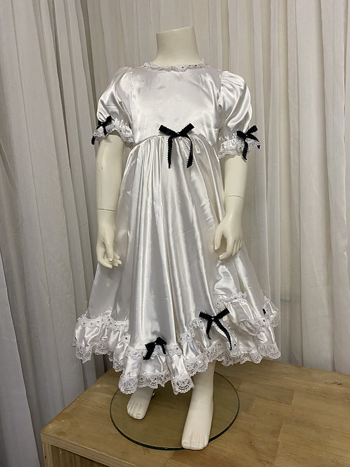 Character White Doll Dress Costume