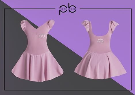 Cap Sleeve Dress - Print B
