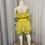 Thumbnail: Yellow 2 Piece Dress/Leotard