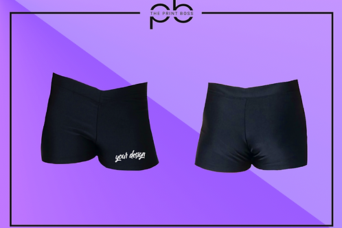 Glossy Hot Shorts - Print (A)