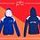 Thumbnail: Panel Zip Hoodie - Print (C)