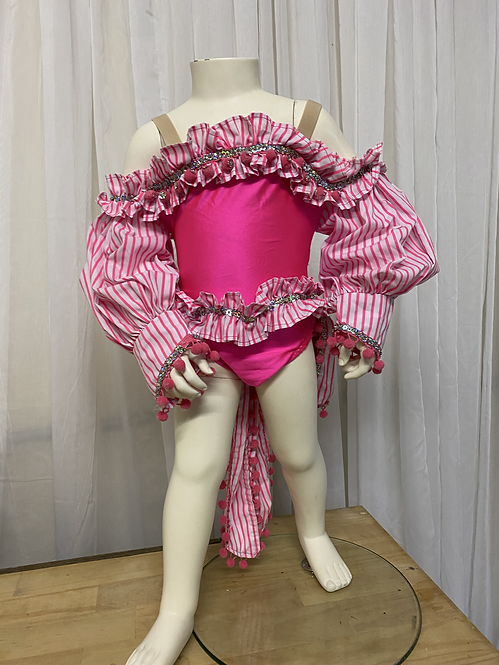 Pink Detailed 1 Piece