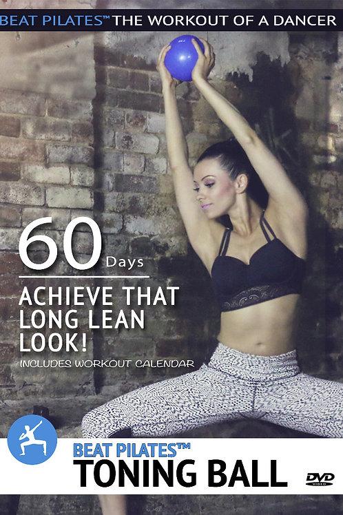 Beat Pilates™  Toning Ball workout (3 workouts)