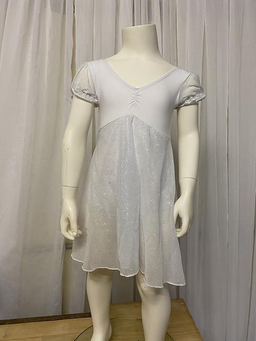 White Mesh Dress