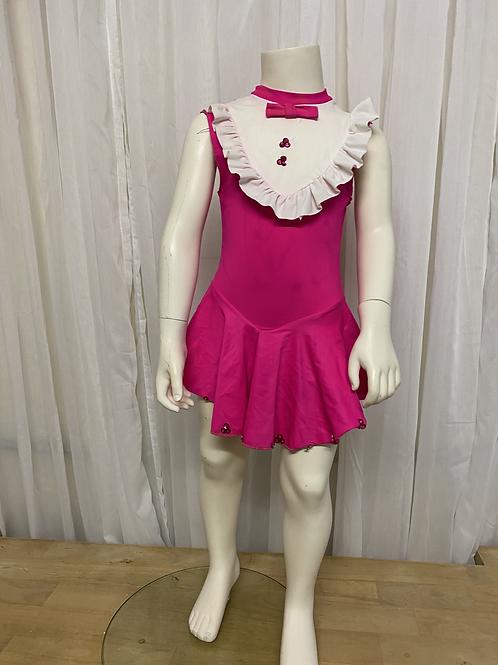 Pink 1 Piece Dress/Leotard