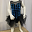 Thumbnail: Blue Sequin Checkered Tutu