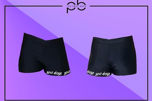 Glossy Hot Shorts - Print (F)
