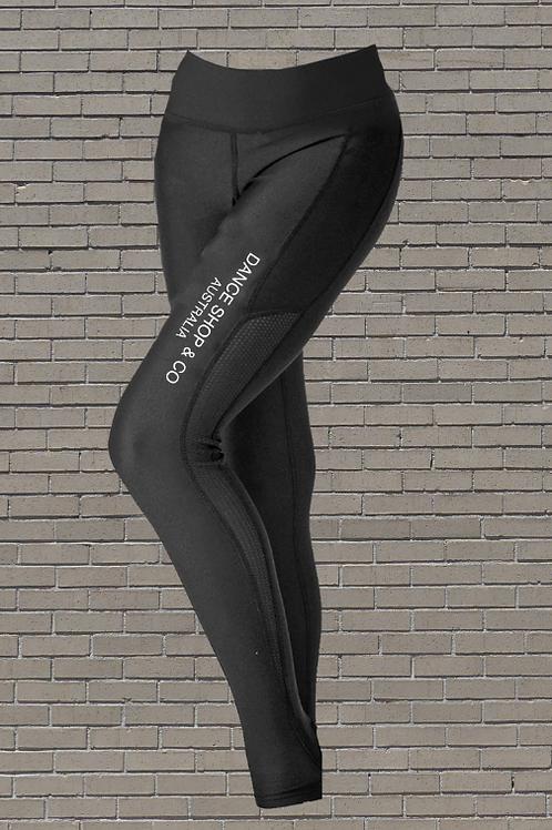 High Waisted Full Length Leggings