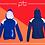 Thumbnail: Panel Zip Hoodie - Print (G)