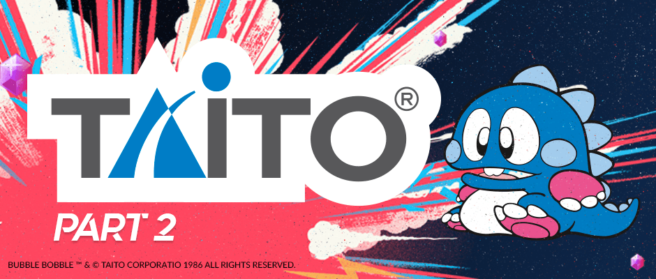 Brand New on Antstream Arcade: Taito Special – Part Two!