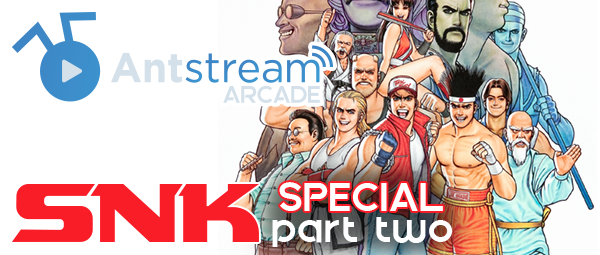 New On Antstream Arcade This Week: SNK Special - Part Two!