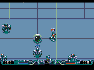 Classic Retro Game Speedball 2 Sega Megadrive Genesis