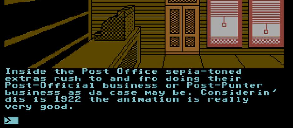 Text Adventures on Antstream Arcade