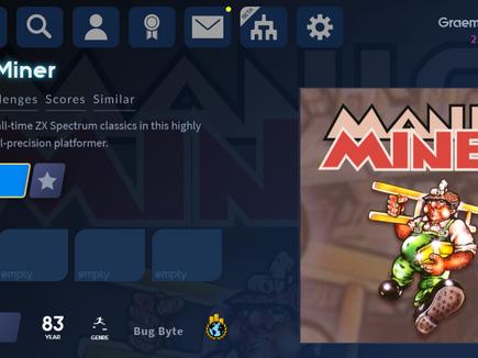 Antstream Arcade Archive: Manic Miner