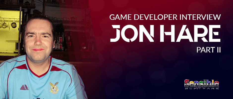 Game Developer Interview: Jon Hare - Part Two!
