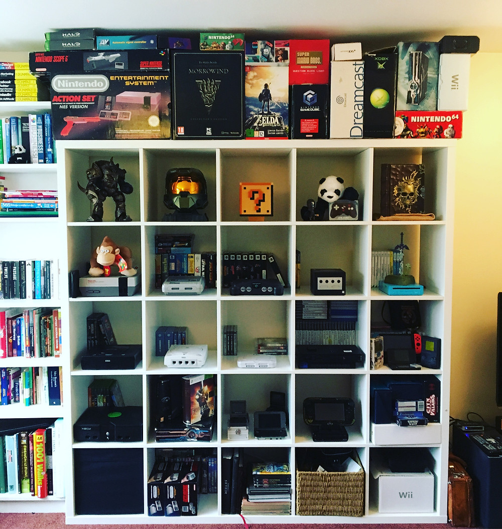 classic retro games collection