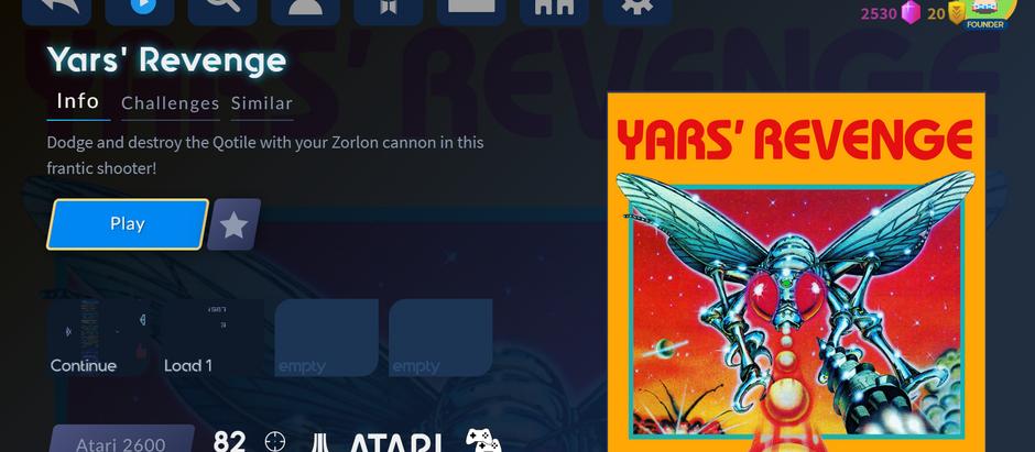 Antstream Arcade Archive: Yars' Revenge