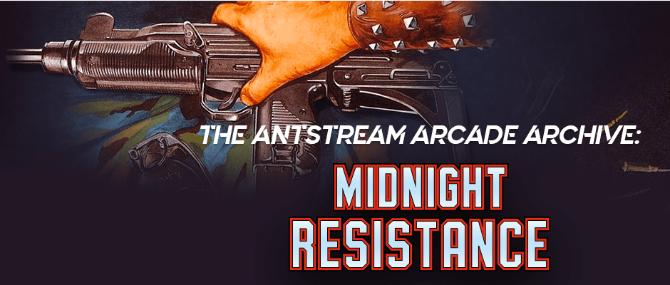 The Antstream Arcade Archive: Midnight Resistance