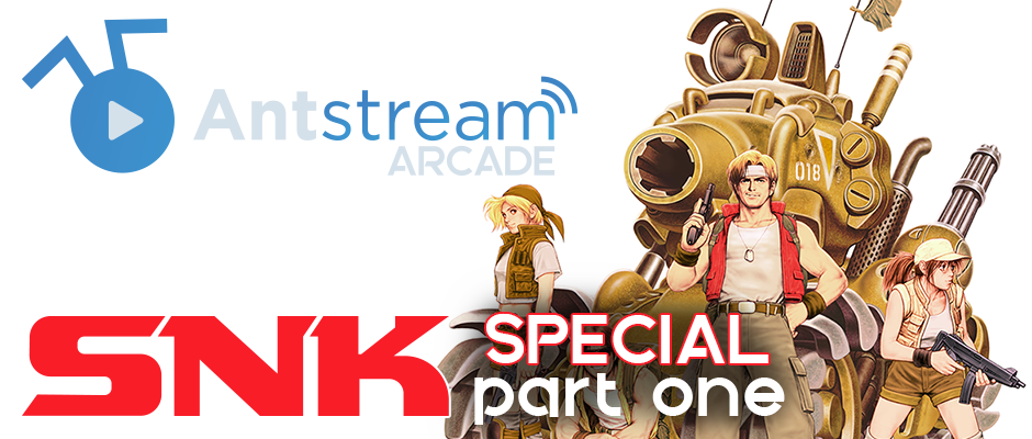 New On Antstream Arcade This Week: SNK Special!