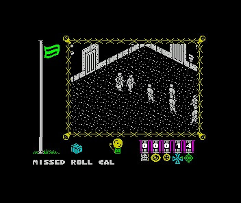 Classic Retro Game Great Escape ZX Spectrum