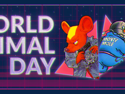 World Animal Day on Anstream Arcade