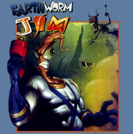 Antstream Arcade Archive: Earthworm Jim