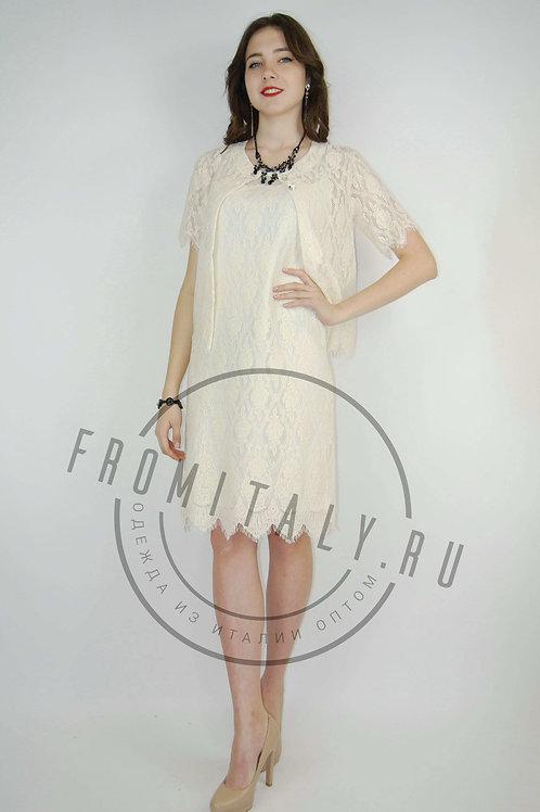Комплект « Платье+Жакет  MOU»