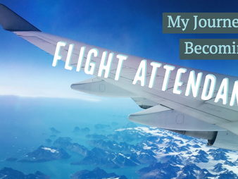 My Journey to Becoming a Flight Attendant
