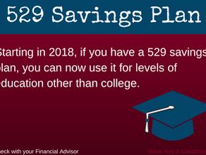 529 Savings Plan | Tax Reform Update
