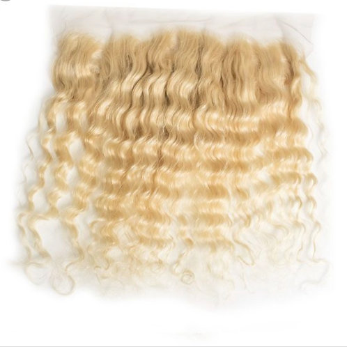 Russian Blonde Frontal Deep Wave