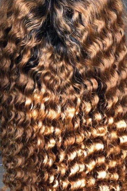 Indian Deep Wave Frontal Wig