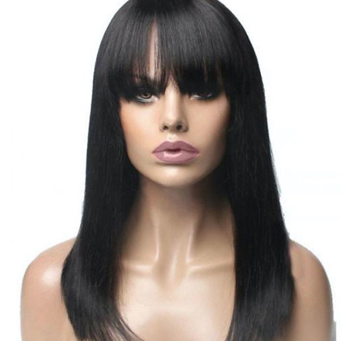 Bang Straight Full Lace Wig