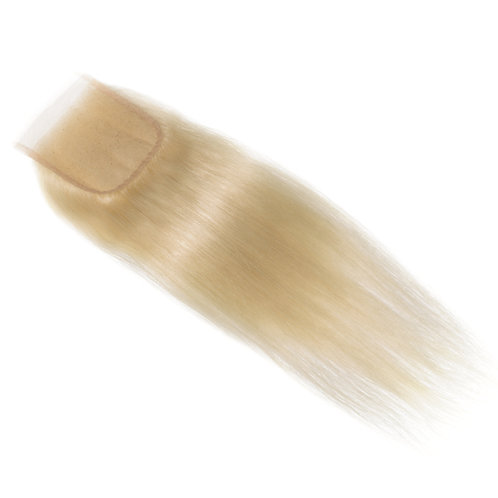 Russian Blonde Straight Closures