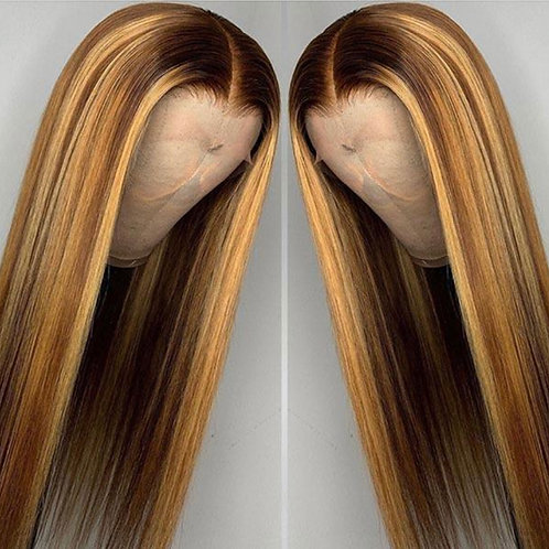 JT- Two Toned Tinted Full Lace Wig