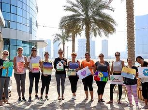 Alex - Sober Girls Brunch - Drawing - Group Photo - Yoga Retreat