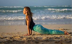 Alex - Soul Beach Photoshoot - Upward dog - Third Eye - sand - sea - Ocean -