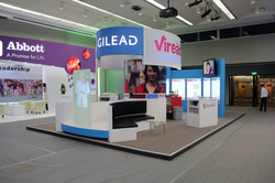 Medical Conference Booth GILEAD