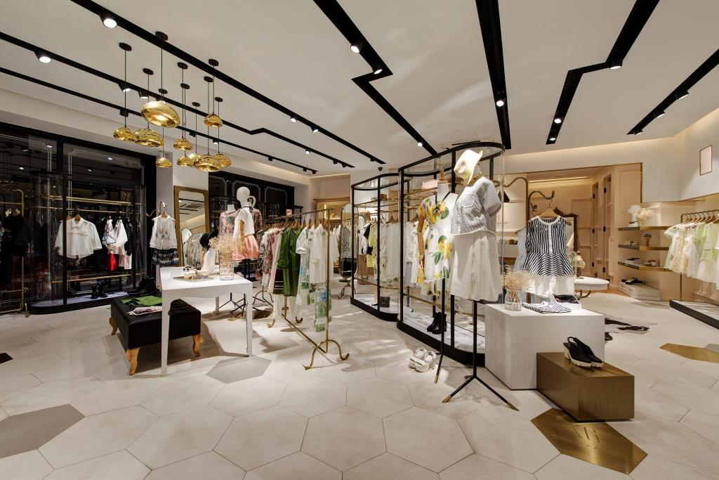 Fashion retail interior