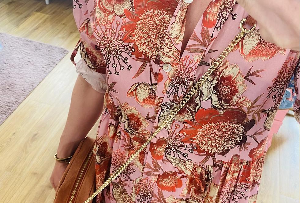 Hemdblusenkleid  Birdy rosa