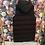 Thumbnail: Steppweste lang schwarz