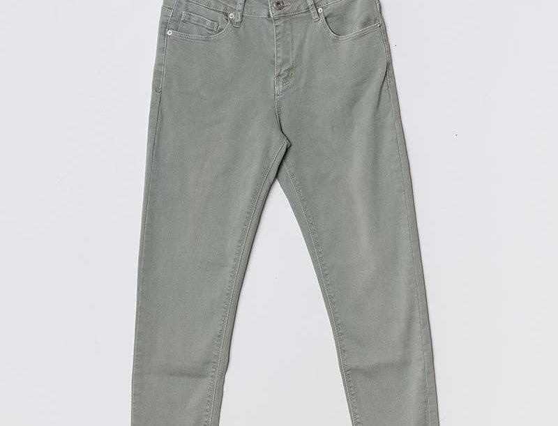 Jeans - Pistazie