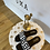 Thumbnail: Sandale schwarz/weiß
