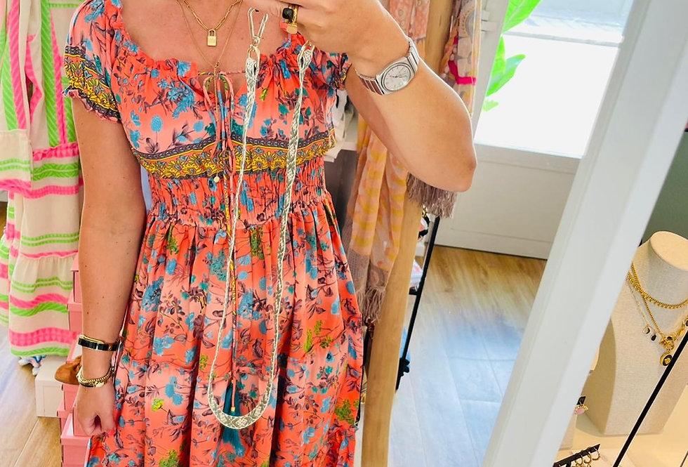 Kleid Summer orange