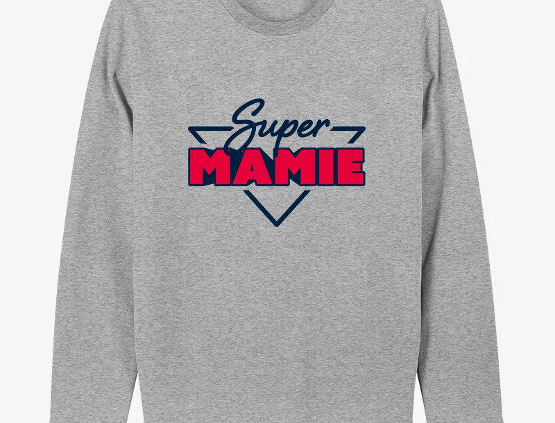 Sweatshirt SUPER MAMIE