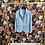 Thumbnail: Blazer Jersey hellblau