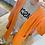 Thumbnail: Strickjacke orange